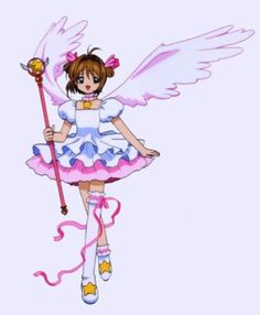 Rational Japanese Comic Card Captor Sakura Wings Schoold Backpack Magical Card Girl Sakura Cosplay Backpack Sakura Wings Bag In Short Supply Novelty & Special Use Costume Props