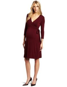 3a8e8d2578aa5 Ripe Maternity Women's Ballet Wrap Nursing Dress Ripe Maternity, http://www.