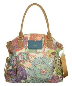 Blue & Green Pastel Tote $89.99 by Zulily