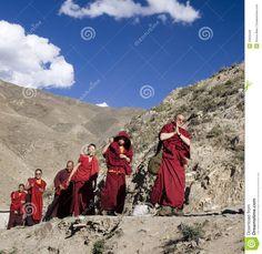Tíbet - Monjes budistas - Himalaya