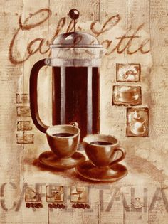 Printable image for decoupage and transfer purposes -coffee I Love Coffee, Coffee Art, Coffee Shop, Coffee Cups, Coffee Break, Decoupage Vintage, Decoupage Paper, Collages D'images, Coffee Crafts