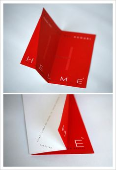 Super lovely branding work by Jacopo Leone (aka Etcetera) in Italy for Helmé furniture design, accessories and clothing store.