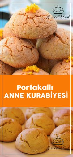 cookie tips Portakall Anne Kurabiyesi Winter Desserts, Holiday Desserts Christmas Cake, Thanksgiving Holiday, Christmas Baking, Cheesecake, Orange, Trifle, Vegan, Free