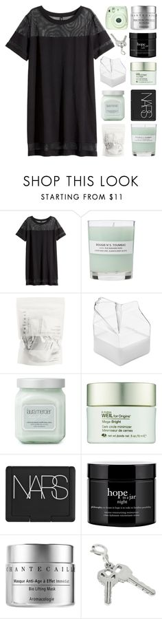 """13k PART O2."" by constellation-s ❤ liked on Polyvore featuring Fuji, H&M, A.P.C., Brickell, Laura Mercier, Origins, NARS Cosmetics, philosophy and Chantecaille"