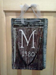 Vintage Rusty Tin Roofing Shingle repurposed by TheRustyShingle, $24.00