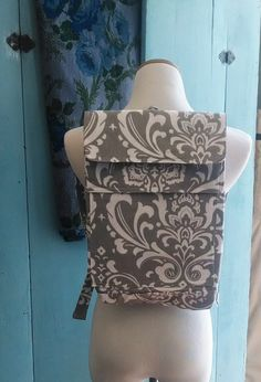 Cute Feeding Tube Backpack - Custom Fabric Choices - Front Pocket for Quick Pump Access on Etsy, $68.00