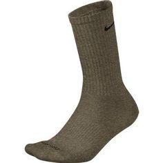 af3e1c3d9b Nike Golf Mens DriFit Tour Crew Socks Dark Chino HeatherBlack XLarge * More  info could be