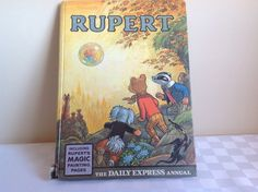 1968 Rupert Annual by FadoVintage on Etsy