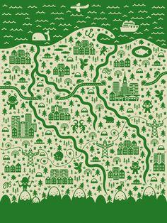 by Jan Feliks cute #map