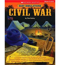 """Social Studies/Book: I've seen one of these in action. Life is Better Messy Anyway: Civil War. Classroom simulation for the Civil War. starts with the book then spilt class into two sides and play out the """"civil war"""" 7th Grade Social Studies, Social Studies Classroom, Social Studies Resources, Teaching Social Studies, Teaching Us History, Teaching American History, History Teachers, History Classroom, Civil War Activities"""