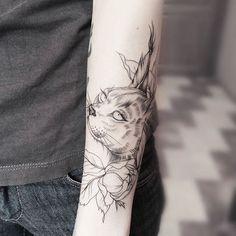 "Tatuagem feita por <a href=""http://instagram.com/olshery"">@olshery</a>❤️"
