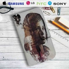 The Last of Us Face Leather Wallet iPhone 4/4S 5S/C 6/6S Plus 7| Samsung Galaxy S4 S5 S6 S7 NOTE 3 4 5| LG G2 G3 G4| MOTOROLA MOTO X X2 NEXUS 6| SONY Z3 Z4 MINI| HTC ONE X M7 M8 M9 CASE