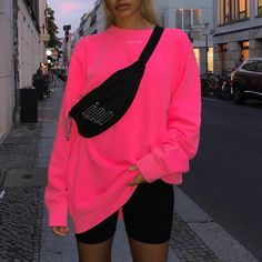 Spoils, new era street in vogue appearance or approach. Need to outfit just like a swaggy? Neon Outfits, Chill Outfits, Sporty Outfits, Swag Outfits, Mode Outfits, Trendy Outfits, Summer Outfits, Fashion Outfits, Cool Girl Outfits