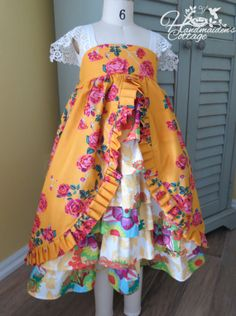 Garden Tea Party...Ready to ship size 6 by HandmaidensCottage, $75.00