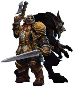 Greymane & Worgen Form from Heroes of the Storm