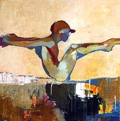 Jylian Gustlin - Contemporary Artist - FIgurative Painting - Figure
