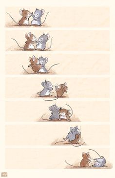 by Stephanie Yue - Photo Composition İdeas Animal Sketches, Animal Drawings, Cute Drawings, Art Sketches, Character Art, Character Design, Mouse Illustration, Pet Mice, Creature Design