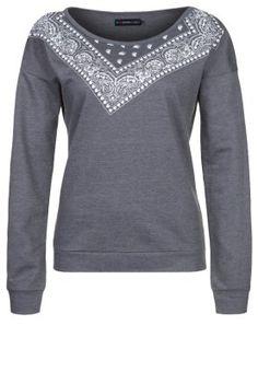 Even&Odd Sweatshirt - Grått - Zalando.se