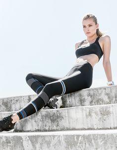 LILYBOD leggings MALI - ULTRA JET