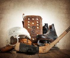 Vintage Hockey Gear from Saint