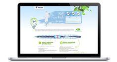 Pilot pen #flash #webdesign