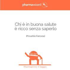 """""""Chi è in buona #salute è ricco senza saperlo"""" (#proverbio francese) #frasi #aforismi #ricchezza"""