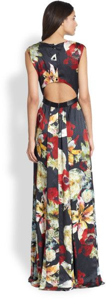 Alice and olivia triss belted maxi dress