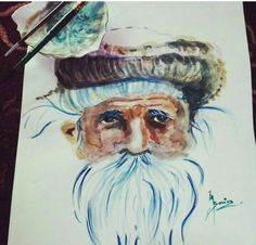 Watercolor: Portrait A4 size