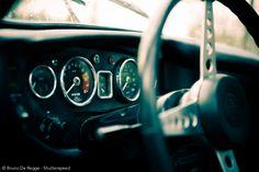 1971 MGB GT dashboard by Bruno De Regge #MG #photography