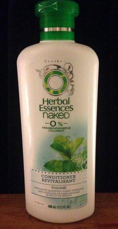 Herbal Essences Naked 0% Conditioner, Volume, 13.5oz NEW    eBay