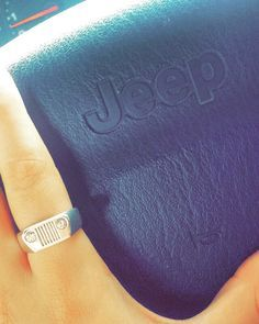 Jeep ring. White gold ring with diamonds. For sale. I NEED THIS NOW...PLEASE
