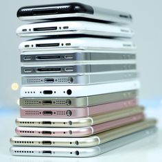 9 Years of iPhone. 2007-2016. Every iPhone Comparison Tomorrow. #iPhoneSE…