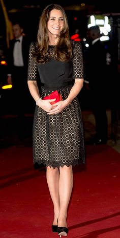 Ladylike from Kate Middleton's Best Looks  The brunette is all smiles ahead of the annual SportsAid dinner.
