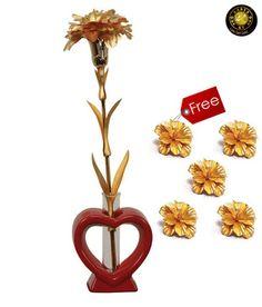 Aarya24kt Carnation Flower Forever
