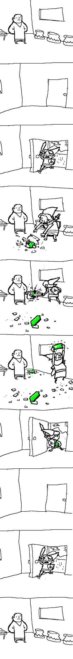 Zelda Comic. This is too true :) | #LegendOf #Zelda #Funny