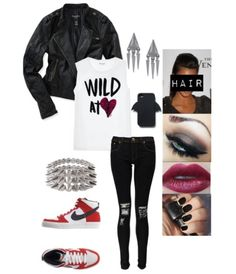 Rocker chic outfit. Good for everyday wear or wear it as a costume!