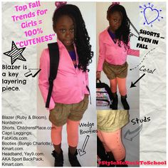 Top Fall Trends for Girls = 100% CUTENESS. Layering over a uniform is a great way to create a look and incorporate the hottest trends from colors to embellishments and more! Featuring @Karen Jacot Jacot Martin Fashion @FabKids @Danar Virdaus Bangsad 9!  #Kids #Fashion #KidsFashion #GirlsFashion #KidsTrends #KidsSwag #Swag #School #BackToSchool #StyleMeBackToSchool