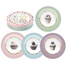 Katie Alice Cupcake Couture Dessert Plates