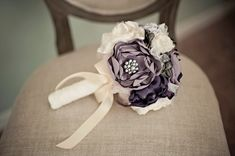 Half flowers half brooches Wedding-flower-alternatives-bridal-bouquets-from-etsy-purple-ivory.large