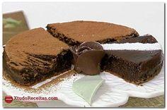 Receita Super Fácil de Torta de Chocolate