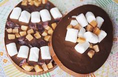 Easter egg chocolate slabs - Recipes - goodtoknow