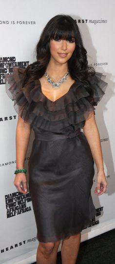 TBT: Kim Kardashian's retro style