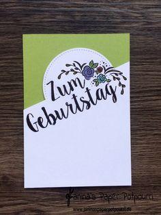 jpp - partial die cutting birthday card – Geburtstagskarte mit teilweise ausgestanztem Kreis / Zum Geburtstag / Big on Birthdays / Stampin' Up! Berlin www.janinaspaperpotpourri.de