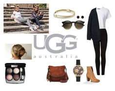 On the Road with UGG: Contest Entry by eugnie on Polyvore featuring polyvore mode style H&M Proenza Schouler Topshop UGG Australia Tom Ford David Yurman Olivia Burton Adele Marie Chanel