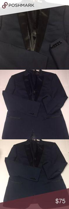 EXPRESS-Slim Photographer Tuxedo Blue BLAZER 44 $198 EXPRESS MENS Slim Photographer Tuxedo Blue SUIT COAT BLAZER 44R NWT Express Suits & Blazers Sport Coats & Blazers