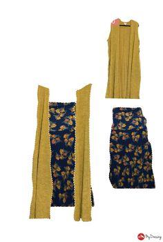 Maxi as sleeveless dress w/ joy