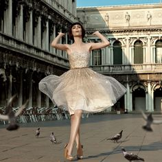 Venice Unmasked ~ Coco Rocha by Laspata/Decaro for Americana Manhasset Lookbook