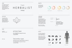 The Herbalist on Behance