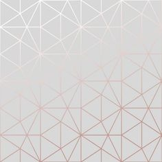 Metro Prism Geometric Triangle Wallpaper - Grey and Rose Gold - bedroom Metro Prism Geometric Triangle Wallpaper - Grey and Rose Gold - Rose Gold Bedroom Wallpaper, Iphone Wallpaper Rose Gold, Rose Gold And Grey Bedroom, Rose Gold Rooms, Gold Bedroom Decor, White Wallpaper, Bedroom Ideas, Wall Paper For Bedroom, Bedroom Furniture