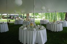 some of our milk glass in use at a wedding 6/2011 - doesn't it look nice?